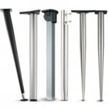 Gambe per tavoli supporti per penisole articoli per la for Staffe pieghevoli