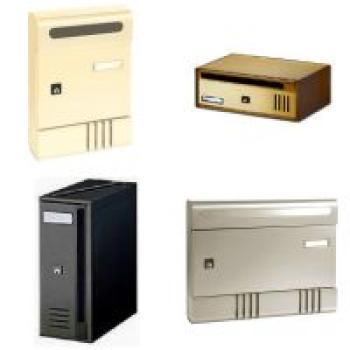 Cassetta Postale Alubox SE componibile 20,4x29x7 cm in Alluminio colore Bianco
