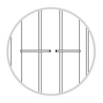 Grate Alis Defender per Porte e Finestre serie D 100