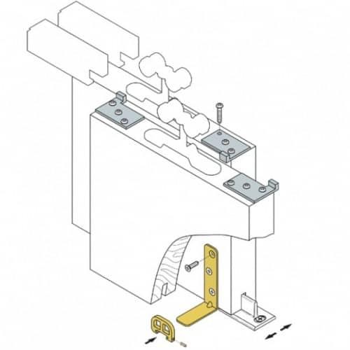 Koblenz KIT per porte scorrevoli con sistema di trascinamento