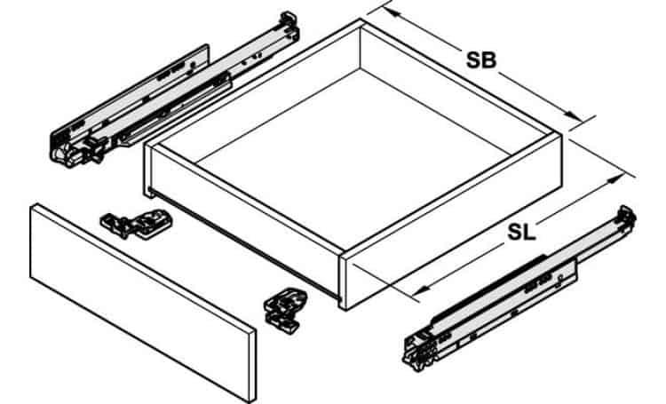 Guide per cassetto 28 images guide su ruote cassetto for Guide cassetti pesanti