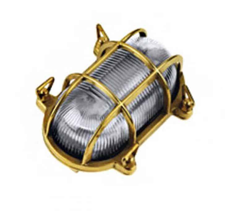 Lampada applique per interno ed esterno tartaruga ovale 60W Inside ...