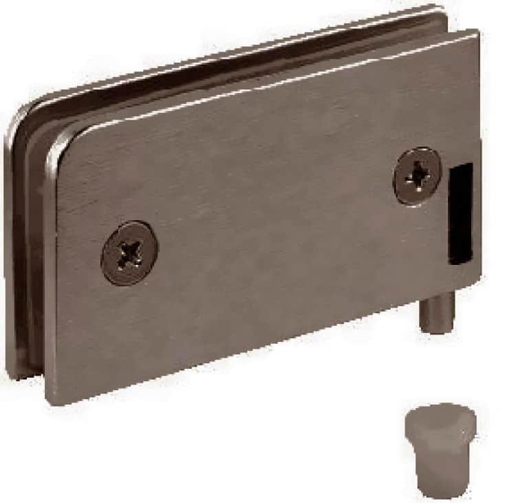 Cerniere per anta in vetro - Bronzo - Ferramenta per mobile