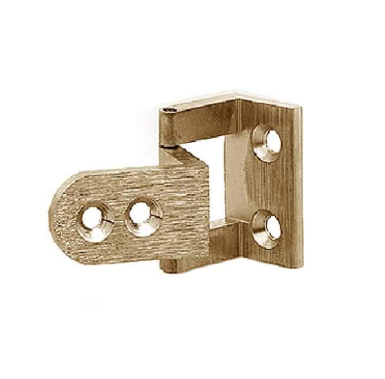 per ante in legno confalonieri 40 mm oro satinato cerniera per ante ...