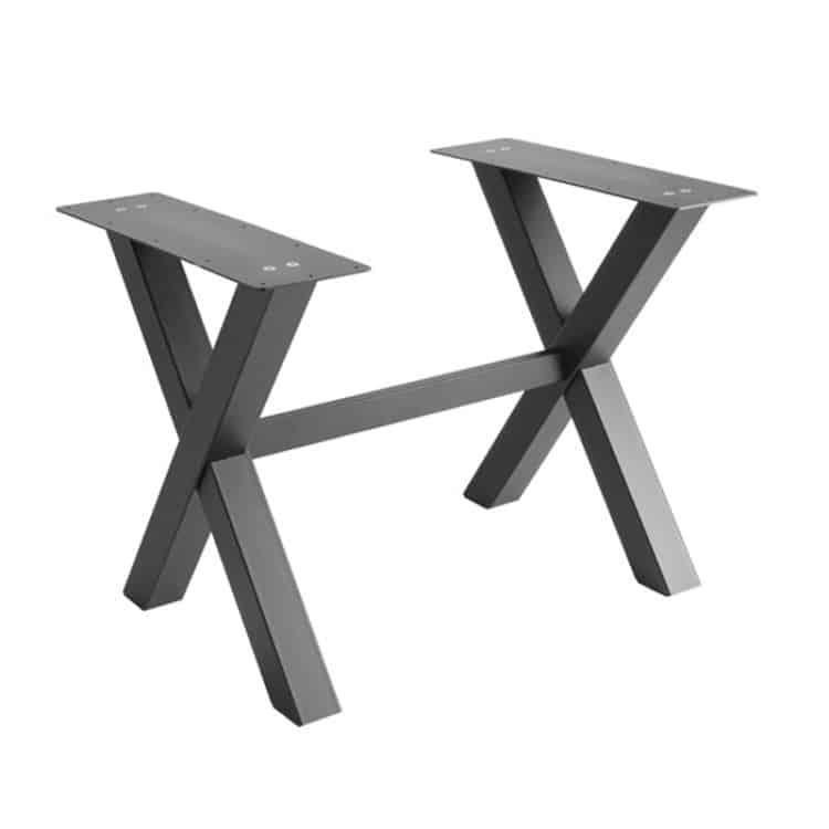 Cavalletti e gambe per tavoli ferramenta per mobili tuttoferramenta - Larghezza tavolo ...