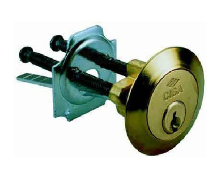 Serratura ferroglietto - Cilindro europeo cisa 5 chiavi ...