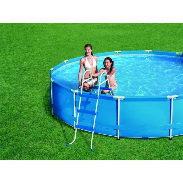 Scaletta per piscina 91 cm bestway tuttoferramenta for Piscine 91