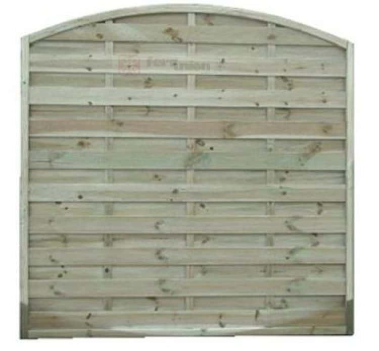 Pannelli in legno frangivento arco di dimensioni cm 180x180 PAPILLON - Tuttoferramenta