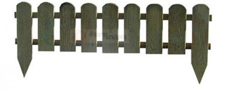 Staccionata in legno recinto inglese cm 110x3 2x28 45 h for Staccionata in inglese