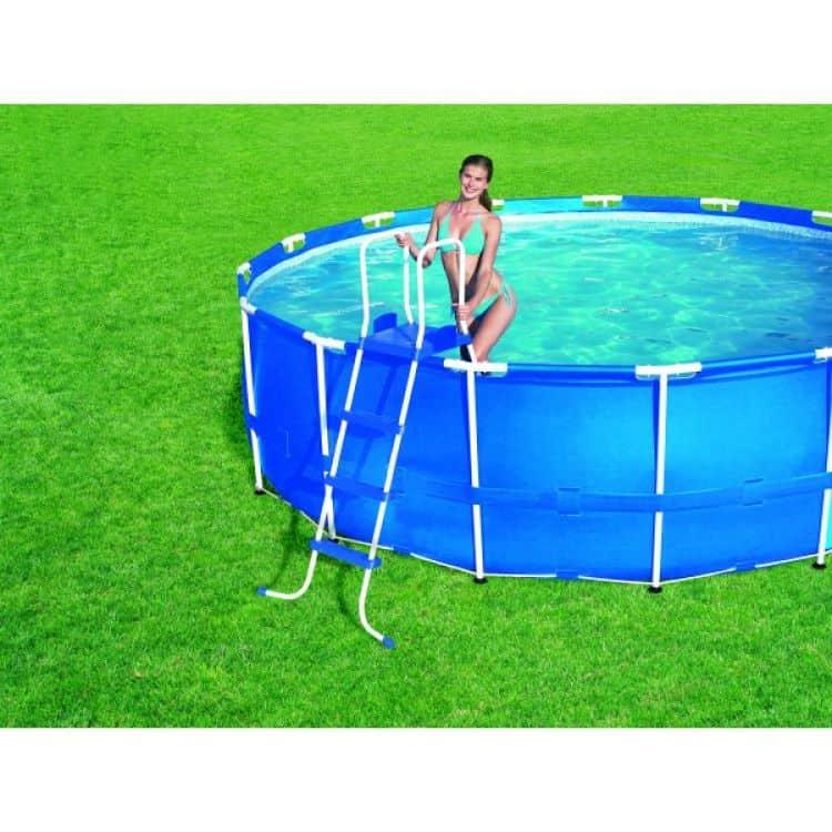 scaletta per piscina 122 cm bestway tuttoferramenta