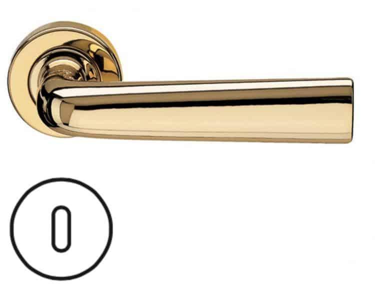 Maniglie fusital serie ac 2 novantacinque h327ry for Maniglie porte oro