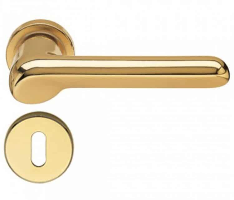 Maniglie fusital serie h 37 tre b for Maniglie porte oro