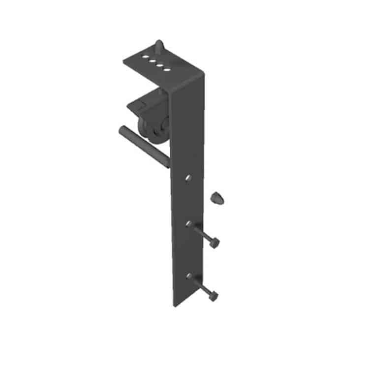 Kit Binario in ferro per porta scorrevole stile industriale ...