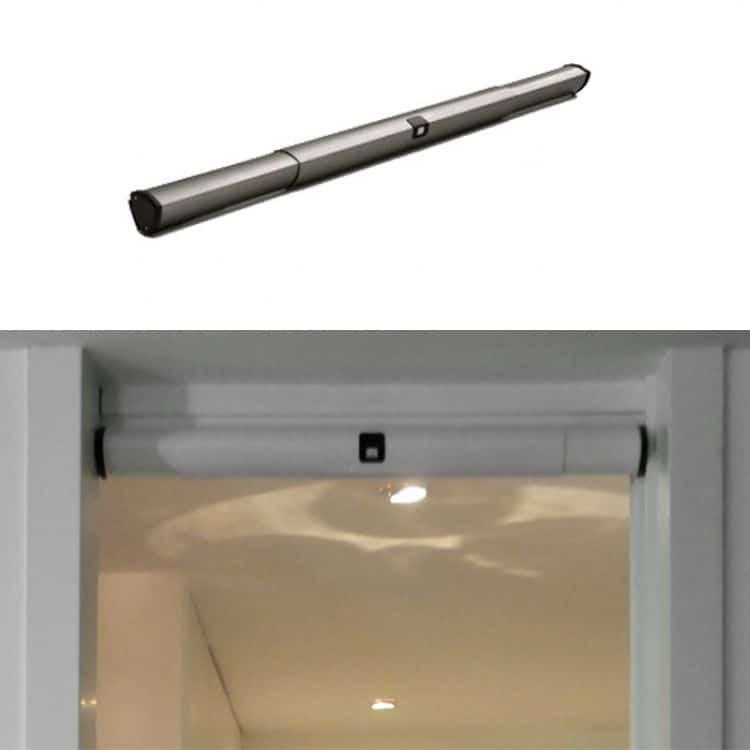 Meccanismo motorizzato per automazione porte interne scorrevoli larghezza 700 1000 mm bianco - Meccanismo porte scorrevoli ...