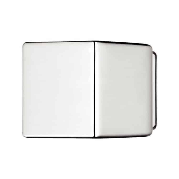 Pomello quadrato Häfele 23 x 20 mm Cromo Lucido ...