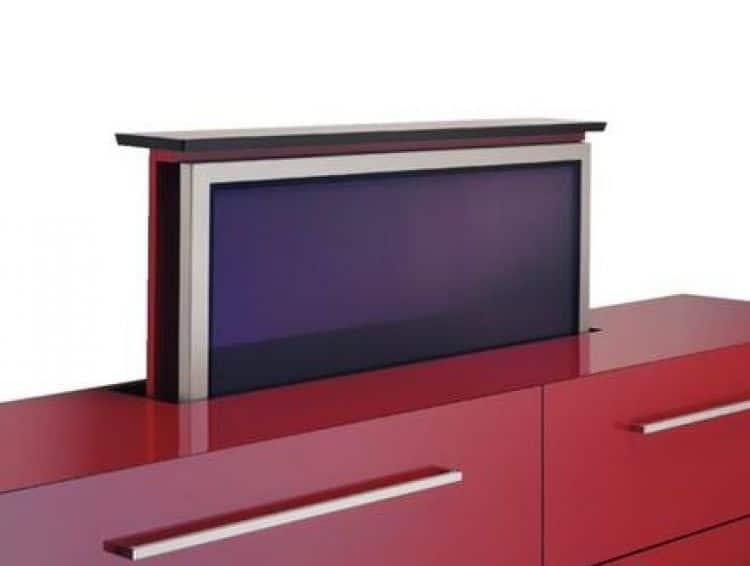 Sollevatore elettrico 80 kg accessori per tv e hifi sistemi di sollevamento elettrico di h fele - Mobile porta tv a scomparsa ...