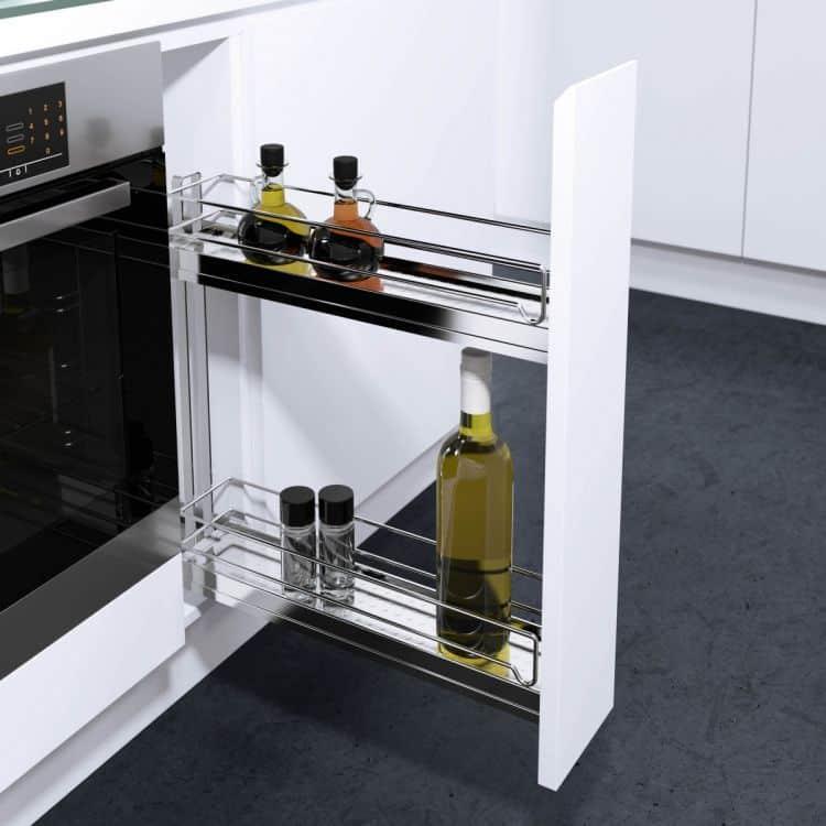 Portabottiglie modulo 150 mm per mobili estraibili cucina ...