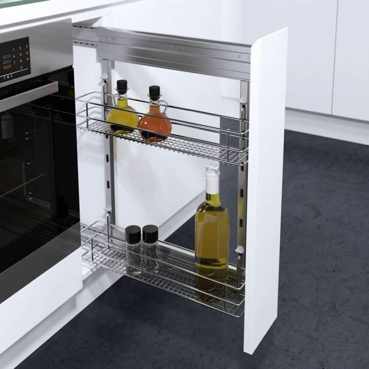 cesti saphir modulo 300 mm dsa per mobili estraibili cucina ... - Cestelli Estraibili Per Cucine