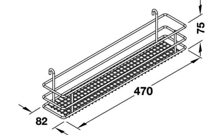 Cesti Classic modulo 150 mm DSA per mobili estraibili cucina - Vauth ...