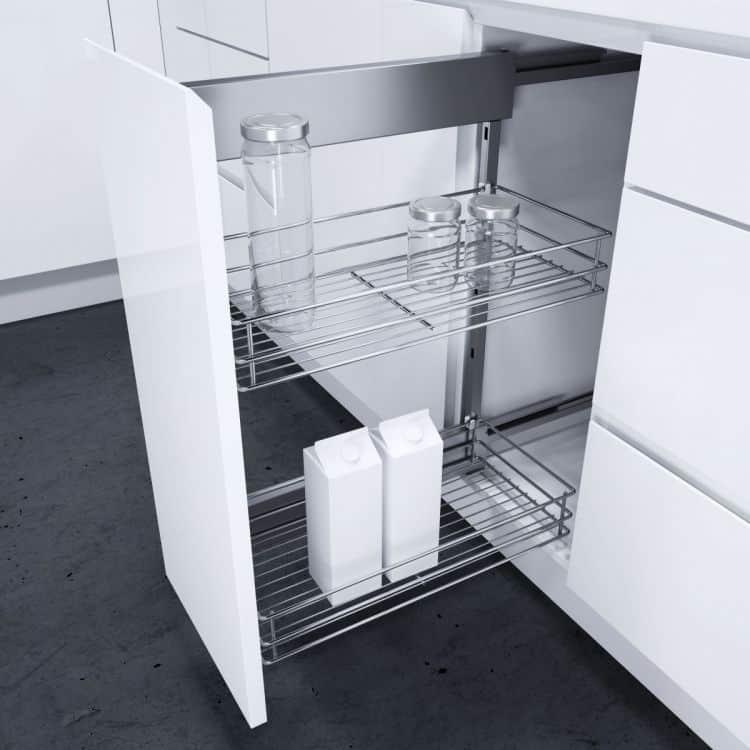 cesti classic modulo 150 mm dsa per mobili estraibili cucina ... - Cestelli Estraibili Per Cucine