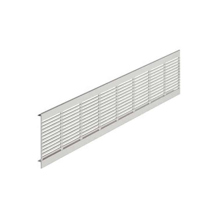 Griglie aerazione 1000 x 100 alluminio da incasso - Tuttoferramenta