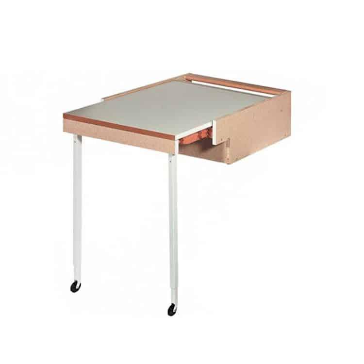 Tavolo estraibile 561 x 504 x 195 mm Portata 110 kg ...