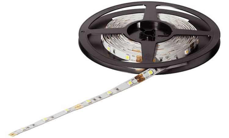 led 2015 12v36w 2700k strip led flessibili 5 metri 150
