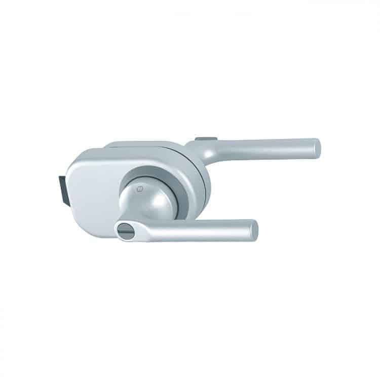 Maniglia per bagno in alluminio hoppe serie arles per - Smontare maniglia porta ...