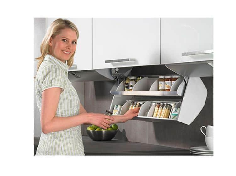 cestello sottopensile estraibile per cucina cosario hettich ... - Cestelli Estraibili Per Cucine