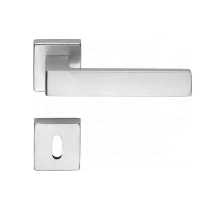 Maniglie per porte interne e finestre maniglia corner le fabric tuttoferramenta - Maniglie porte interne cromo satinato ...