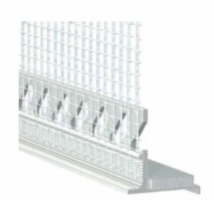 Profilo maico con rete porta intonaco 464831 barra da 2400 - Rete porta intonaco ...