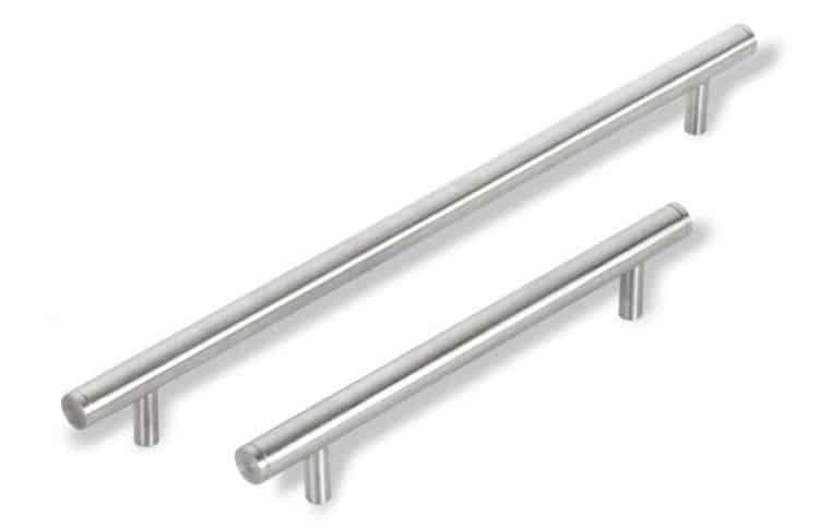 Maniglia per mobili in acciaio inox mital serie 3090 inox satinato tuttoferramenta - Mobili in acciaio ...