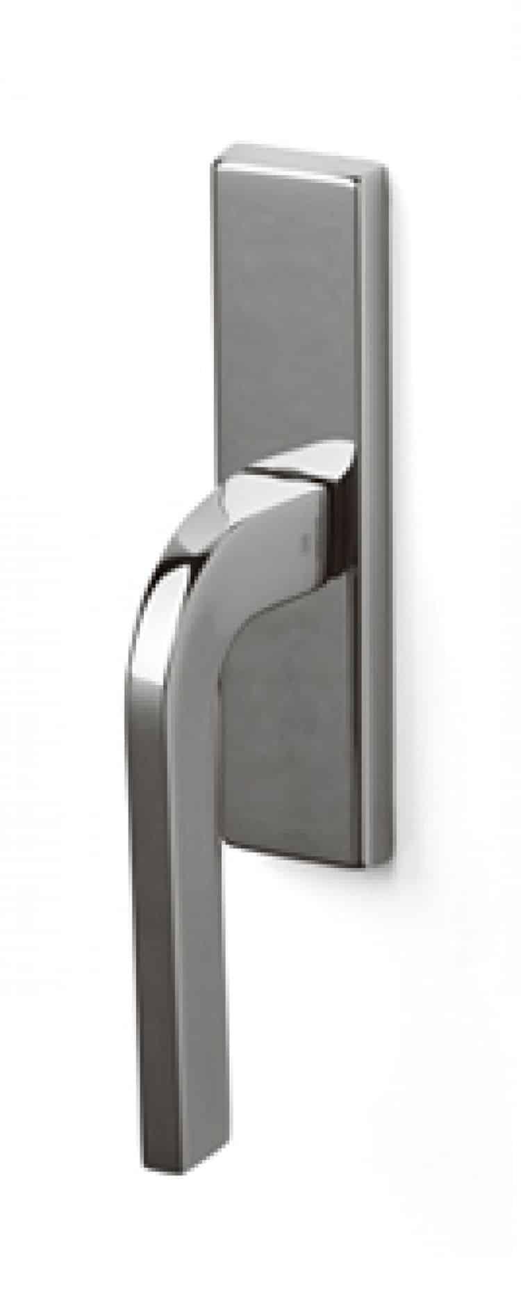 Maniglia olivari serie lesmo per finestre cremonese ottone biocromo lucido - Maniglie per finestre olivari ...