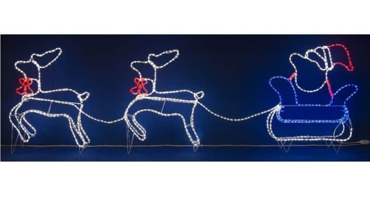 Decorazioni natalizie da esterno for Alberelli da esterno