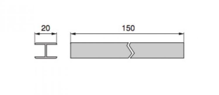 Giunto diritto per zoccolo cucina da 150 a 100 mm - Zoccolo cucina altezza ...