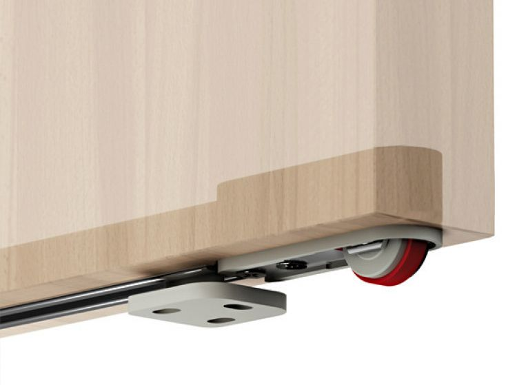 Sistema Terno Magic per porte scorrevoli in legno lunghezza 1,1 m ...