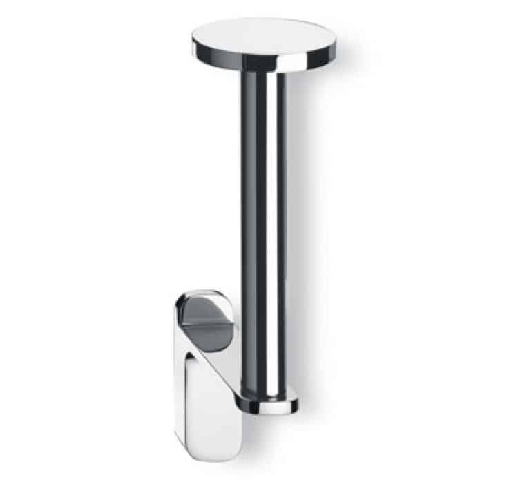 Porta rotolo carta igienica verticale cromato valli arredobagno serie belt - Porta carta igienica design ...