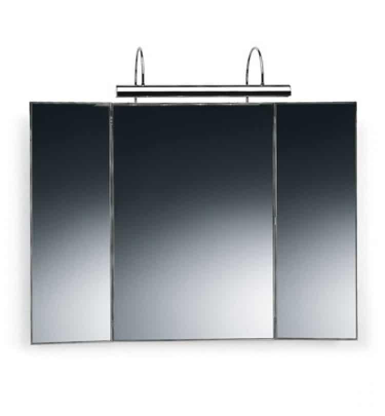 Specchi da bagno di design valli arredobagno - Illuminazione bagno moderno ...
