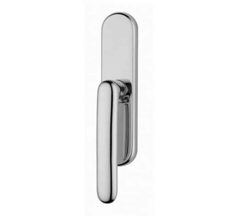 Valli valli serie h1024 lolita maniglia per finestra cremonese cromo tuttoferramenta - Meccanismo cremonese finestra ...