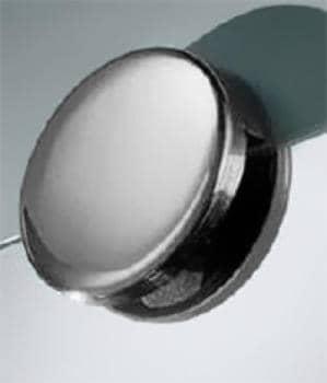 Supporto specchi Confalonieri misura B inox Reggispecchio Ø 35 mm