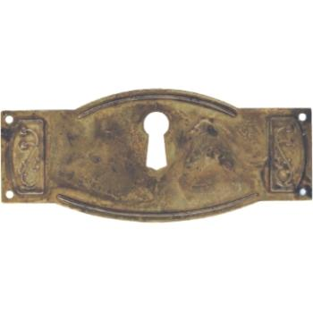 Bocchetta ottone antico 80 x 35 mm