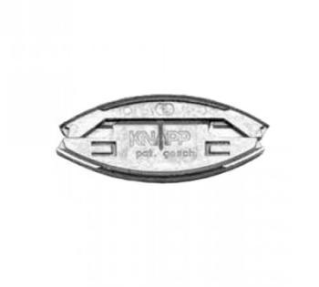 Lamello Knapp K049 giunto silver