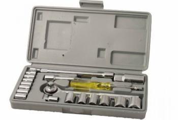Set chiave bussola 20 pezzi 1/4''-3/8'' carbonio