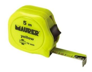Flessimetro Maurer Yellow 5 m 19 mm