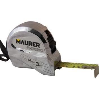Flessometro Maurer 3 m 16 mm CHROMO