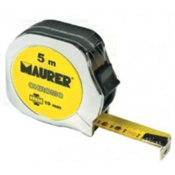 Flessometro Maurer 5 m 19 mm CHROMO