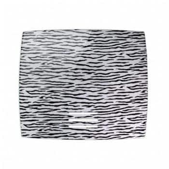 Griglia Aerazione AirDecor Diva diametro supporto a muro 100 mm Zebra