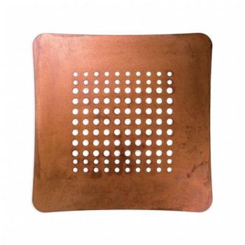 Griglia Aerazione AirDecor Astro diametro supporto a muro 100 mm Rame