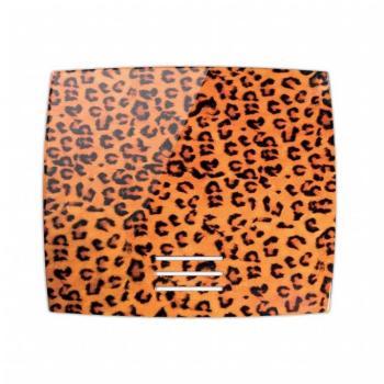 Griglia Aerazione AirDecor Diva diametro supporto a muro 120 mm Leopardo