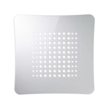 Griglia Aerazione AirDecor Astro diametro supporto a muro 100 mm Bianco